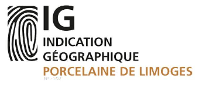 logo Indication géographique Porcelaine de Limoges