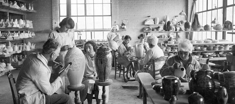 Atelier création - Camille Tharaud - Porcelaines Artoria Limoges